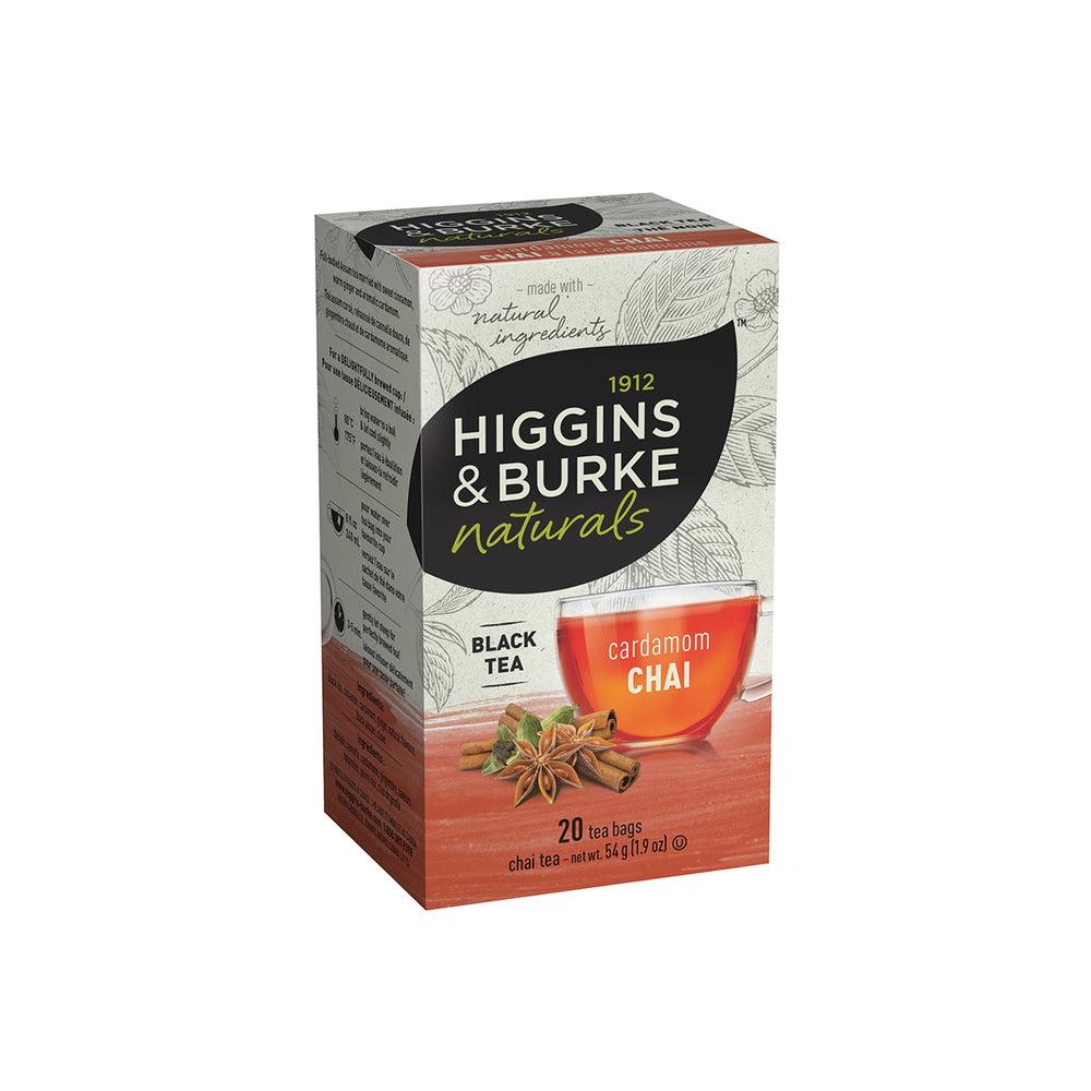 Load image into Gallery viewer, Higgins & Burke Naturals, Cardamom Chai - 54g