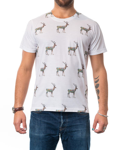 Inked Up Reindeer T-shirt