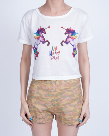 Oh Happy Day! Crop Top