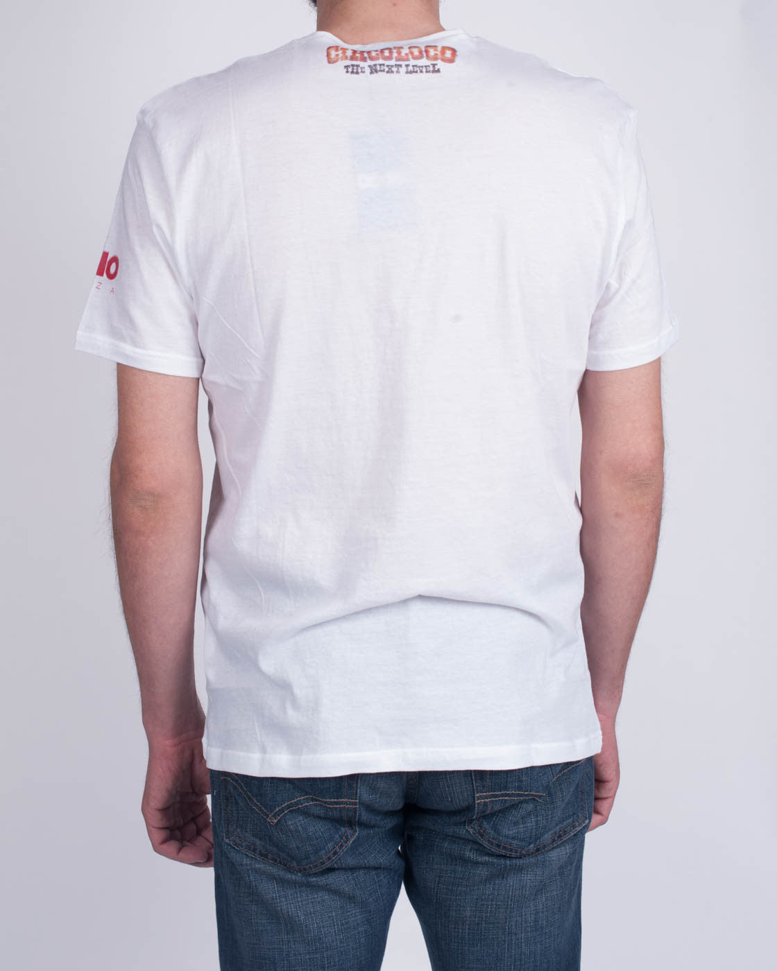DC10 CIRCOLOCO Small White Clown T-Shirt