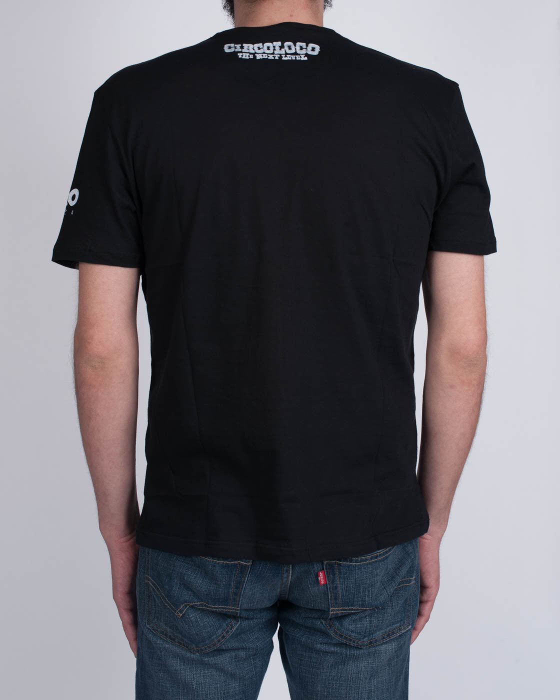 DC10 CIRCOLOCO Small Black Clown T-Shirt