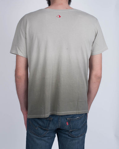 AMNESIA Army Green Fade T-Shirt
