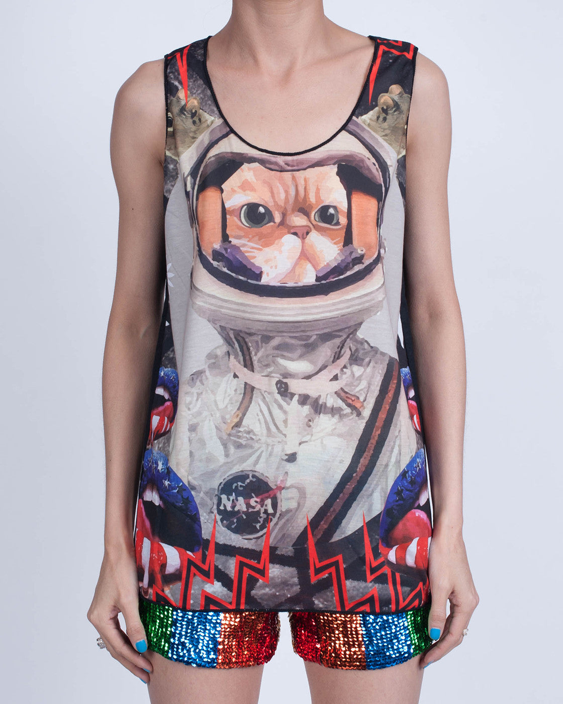 Cat on the Moon Tank