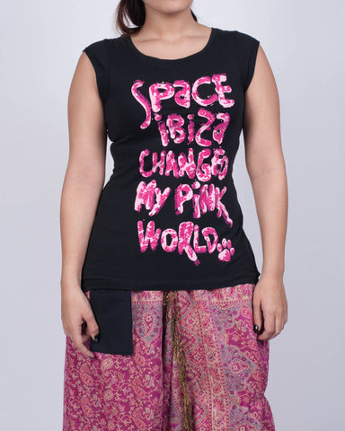 Space Ibiza Changed My Pink World Shirt