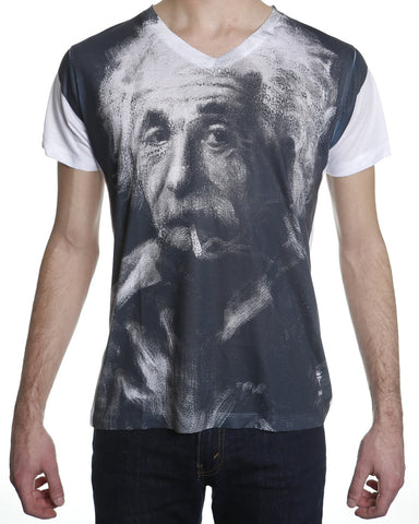 Einstein Takes a Puff T-shirt