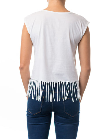 Spike Brooklyn Fringe Tank Top