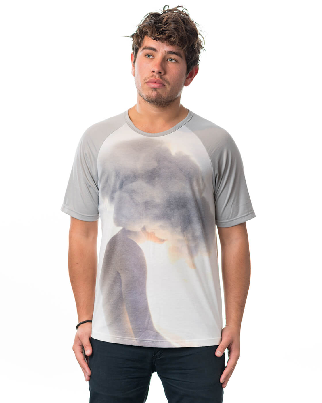 Masque Cloudyman Space Baby T-Shirt