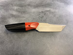 Tanto Fixed Blade Red & Black