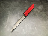 Red Geometric Utility/Paring Knife