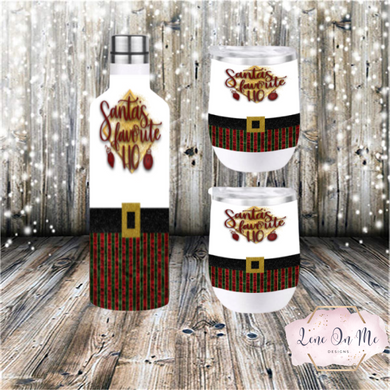 Santa's Favorite Ho Wine Gift Set