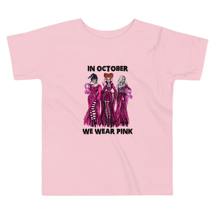 In October We Wear Pink- HP (Toddler and Kids)