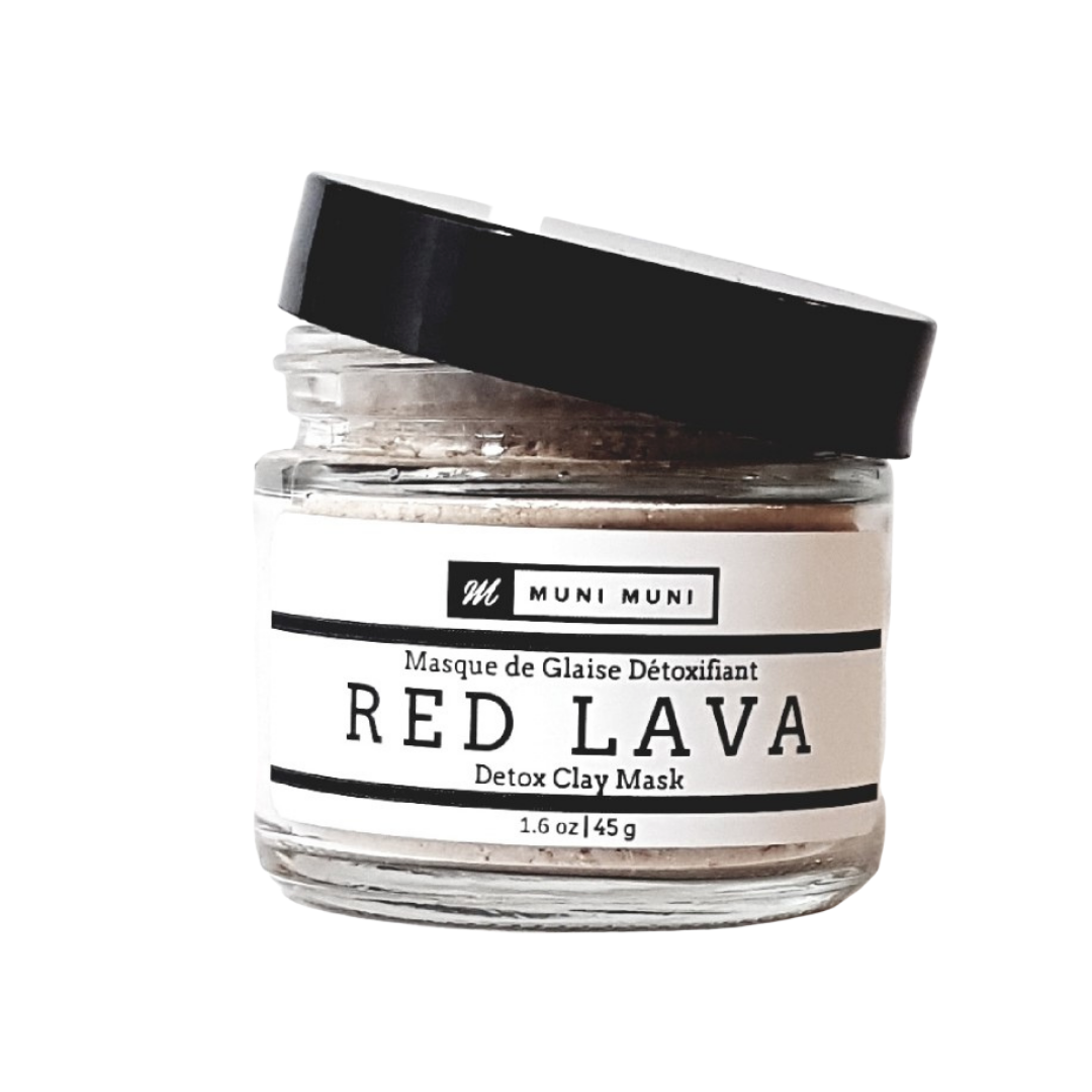Red Lava Detox Clay Mask