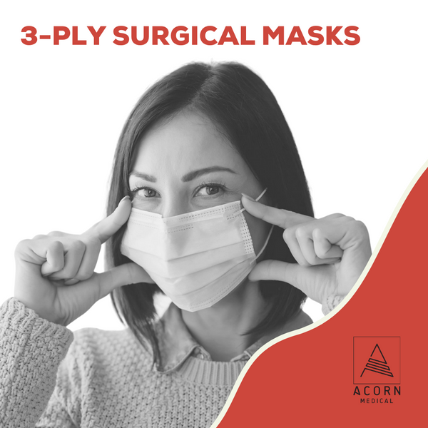 3-ply surgical/procedure masks are helpful to contain viruses and slow or stop their spread. These masks are especially useful on people already infected to stop contamination of others, but according to the WHO (World Health Organization):