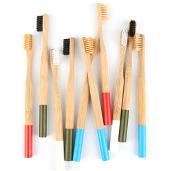 Natural Bamboo Toothbrush Soft Bristle Sustainable