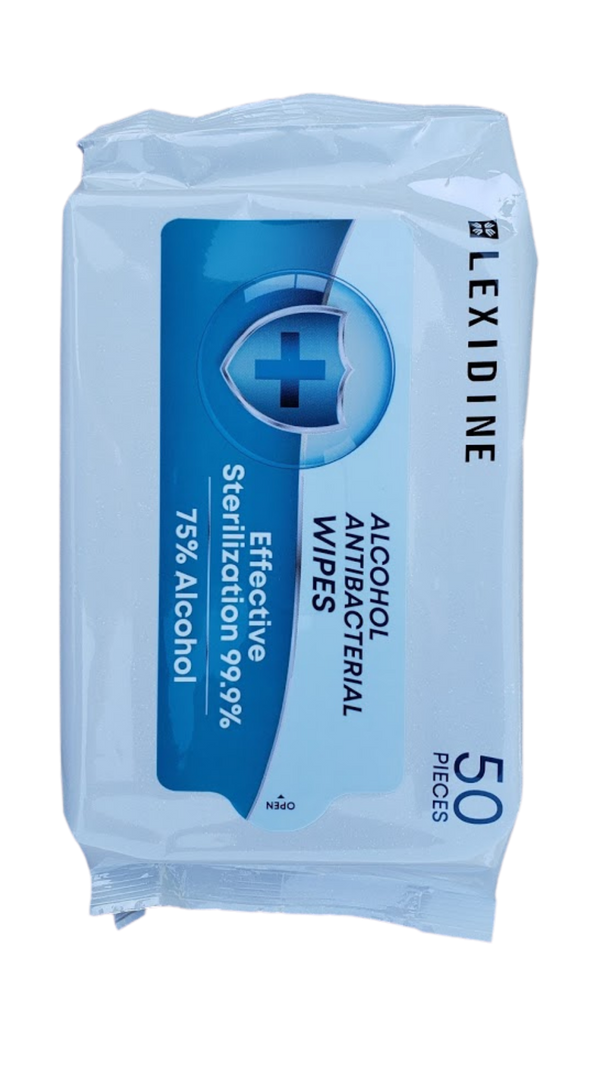 Surface Wipe Softpacks (75% Alcohol) - 50 Sheets