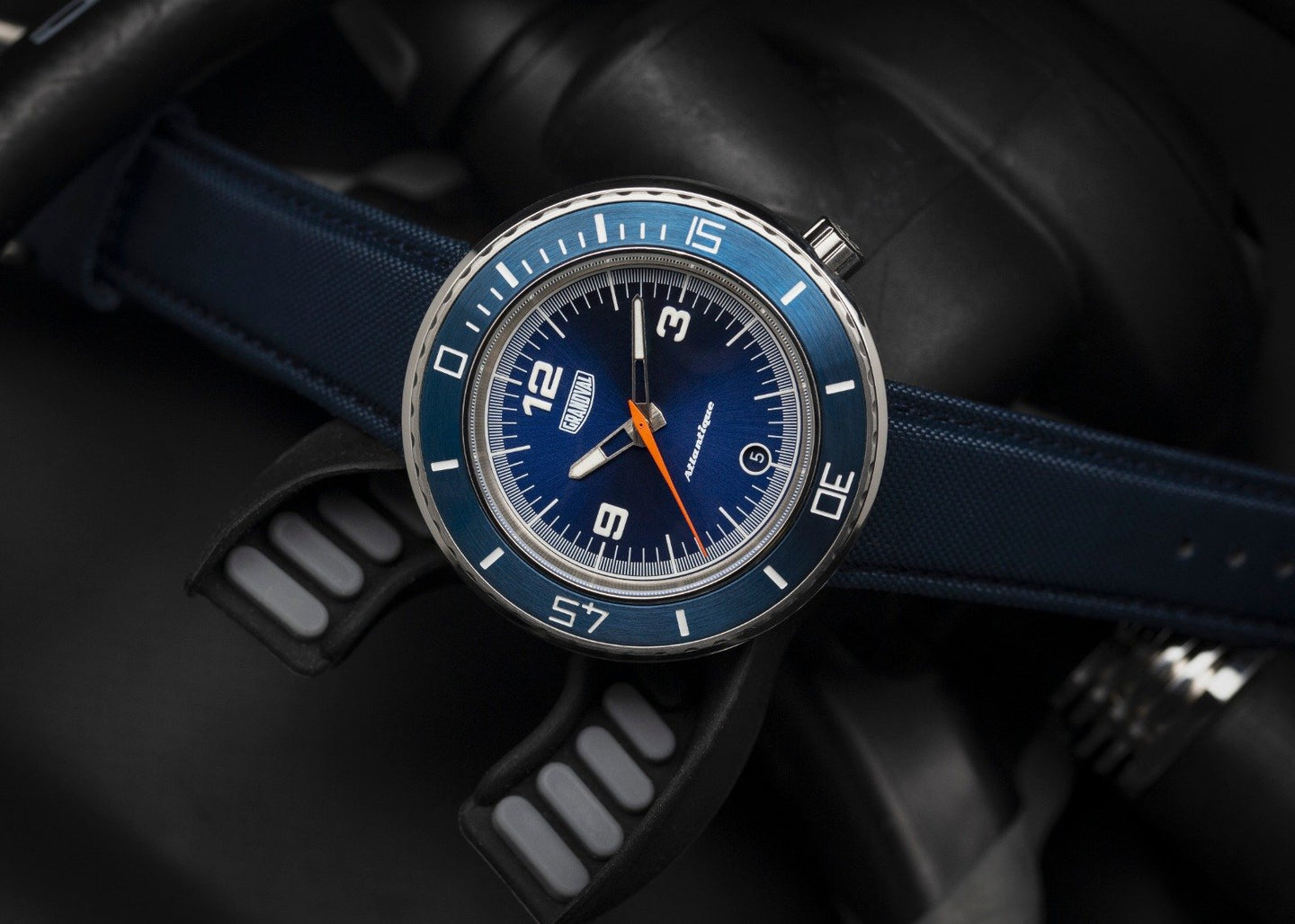 Montre Grandval Atlantique Dual Time watch