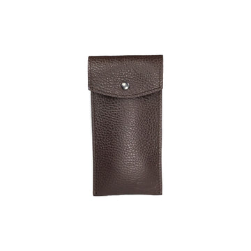 Etui montre Solo - Marron / Single Watch Pouch - Chocolate Brown