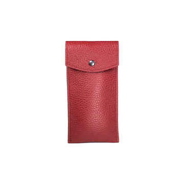 Etui montre Solo - Rouge carmin / Single Watch Pouch - Dark Red