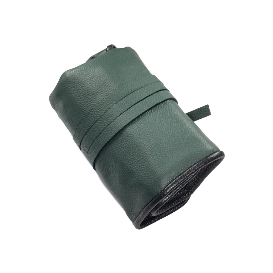 Rouleau 6 montres - Vert Anglais / Watch Roll for 6 - British Green