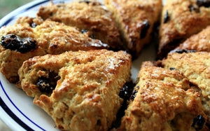 DRIED TART CHERRY-WALNUT SCONES (DRIED CHERRIES)