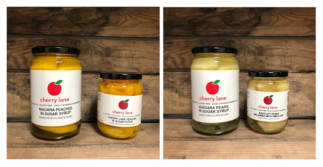 cherry lane canned peaches and pears