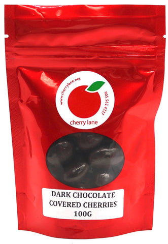 Dark Chocolate Covered Dried Montmorency Cherries 100 g