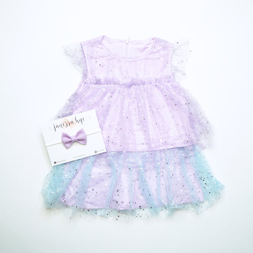 [Anak & I x Janessa Hye] Aurora Tulle Dress with Headband Set