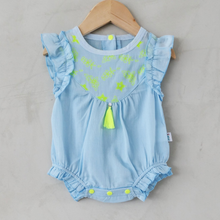 Load image into Gallery viewer, anak and i singapore baby linen cotton onesie romper anak & i