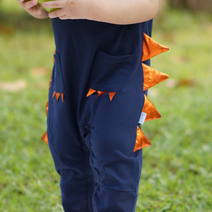 Jacob Dino Jumpsuit - Navy Blue