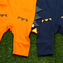 Load image into Gallery viewer, Jacob Dino Jumpsuit - Orange