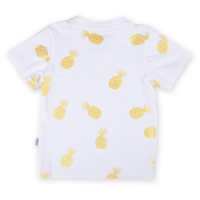 Load image into Gallery viewer, Nenas Kids Tshirt - White