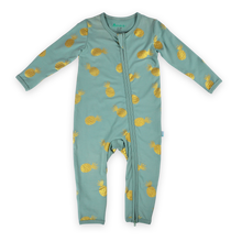 Load image into Gallery viewer, Nenas 2-way Zipsuit - Teal
