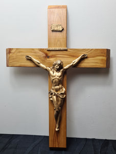 Hand made Crucifix 60cm (AU $60)