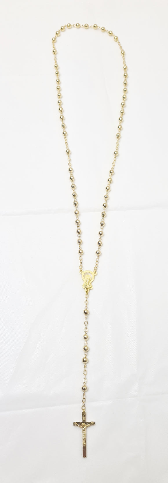 Gold and Silver Italian handmade Rosary