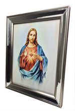 Load image into Gallery viewer, Catholic Images in Mirror Frame (28 x 36cm)