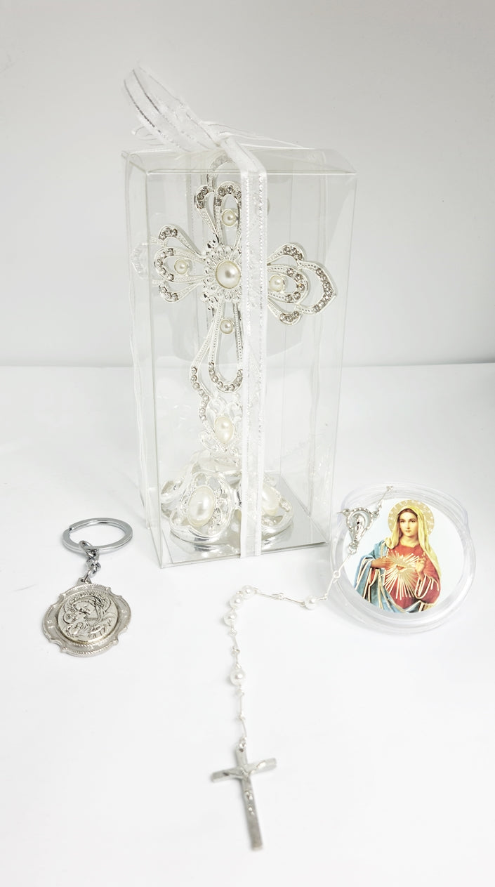 Holy Communion Gift pack Crucifix $30