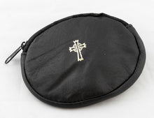 Load image into Gallery viewer, OVAL REAL LEATHER ROSARY CASE
