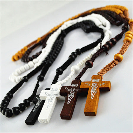 46cm Wooden Rosaries (6 pack)