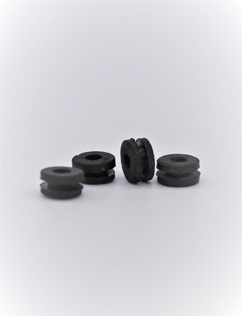 Black Rubber Full Grommets
