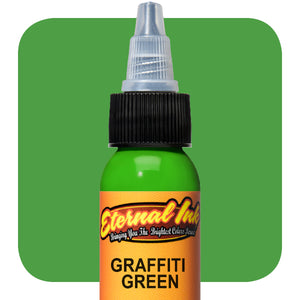 Eternal Tattoo Ink -Graffiti Green(Pick your size)