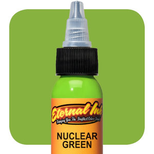 Eternal Tattoo Ink- Nuclear Green(Pick your size)
