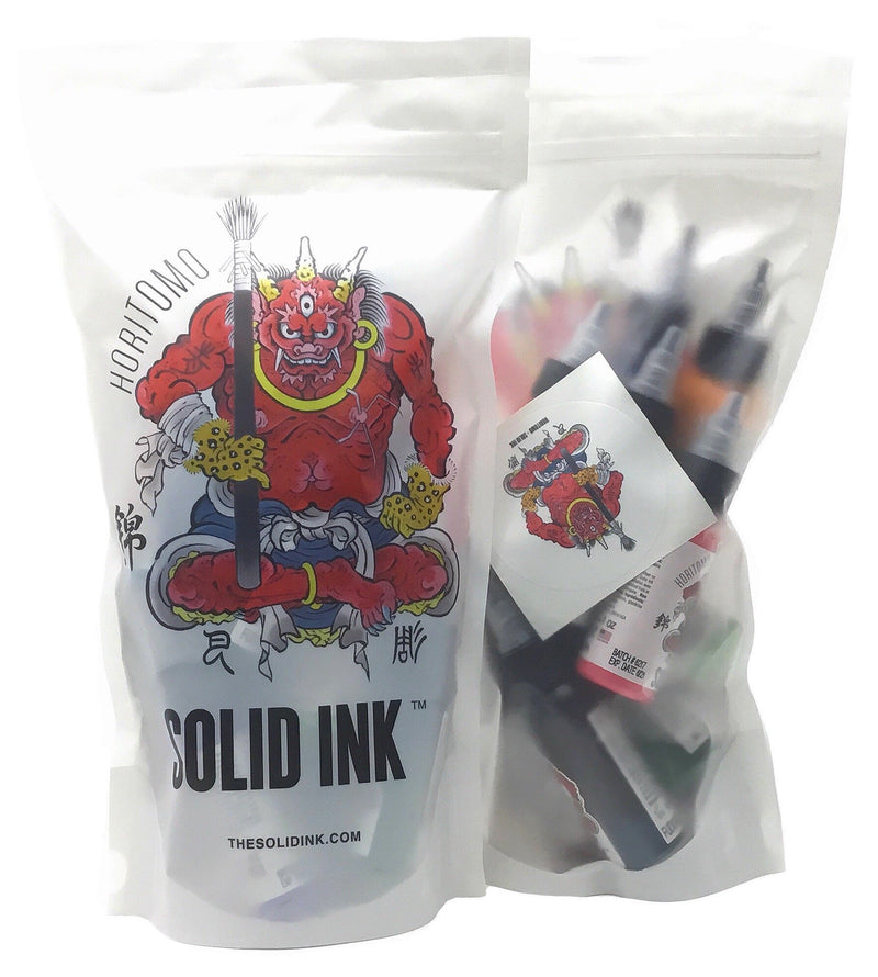Solid Ink Horitomo 1oz Set
