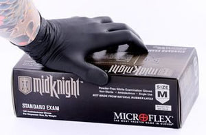 Midknight Nitrile Gloves