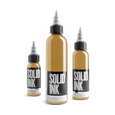 Solid Ink- Ochre (Pick your size)