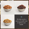 Almonds, Red Raisin, Walnuts Pack of 3
