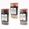 TasteOfAfghan Black raisin, Kaghazi almonds, Red raisin Pack of 3