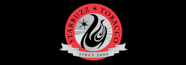 Text - Starbuzz Atlantis Ice Black/Black Shisha
