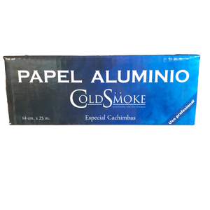 Cold Smoke Papel Aluminio Foil Roll