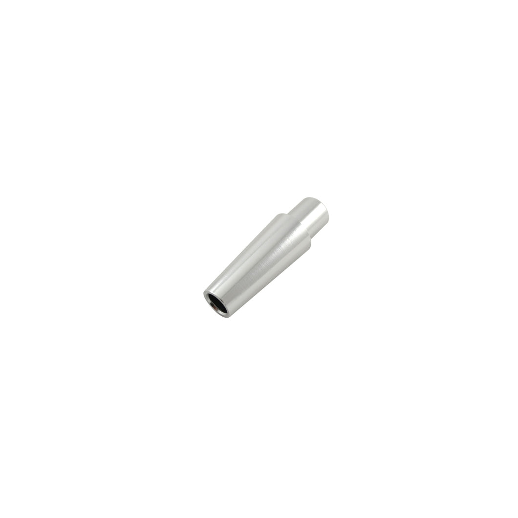 Silicon Hose Connector Silver