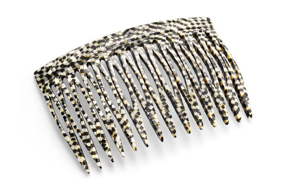Midsize Alicante Hair Comb made of Rhodoïd